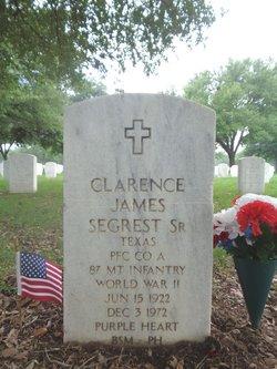 Clarence James Segrest, Sr