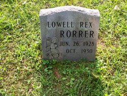 Lowell Rex Rorrer