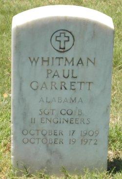 Whitman Paul Garrett