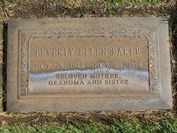 Beverly Ellen <I>Jones</I> Baker