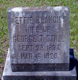 Effie Blanche <I>Smith</I> Still