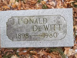 "James Donald ""Don"" Dewitt"