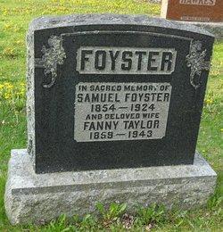 Fanny <I>Taylor</I> Foyster