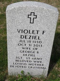 Violet F <I>Duchesne</I> Deziel