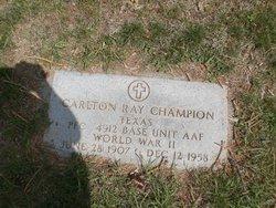 Carlton Ray Champion