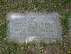 Donald Leroy Harden