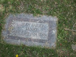 Katherine Jean <I>Bailey</I> Janke