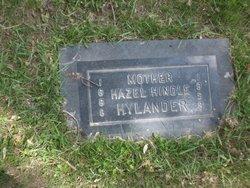 Hazel <I>Hindle</I> Hylander