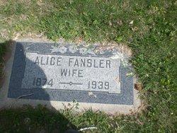 Alice <I>Bennett</I> Fansler