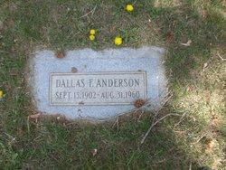 Dallas F Anderson
