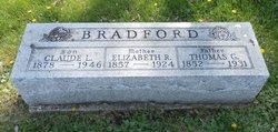 Elizabeth R. <I>Chase</I> Bradford