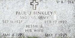 Bessie A Binkley