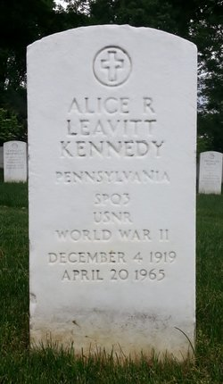 Alice R Leavitt Kennedy