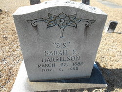 Sarah Columbia <I>Ward</I> Harrelson