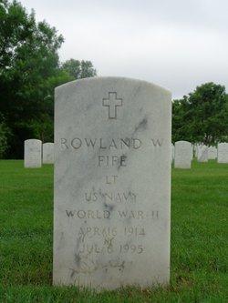 Rowland Williams Fife