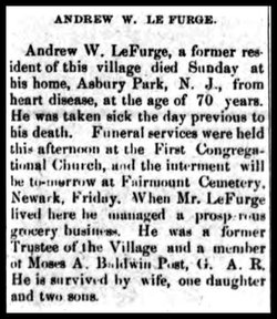 Andrew W Lefurge