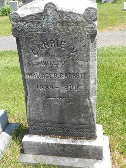 """Caroline V """"Carrie"""" <I>Gillespie</I> Barrett"""