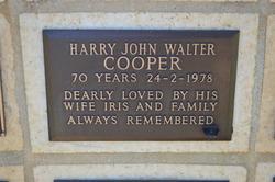 Harry John Walter Cooper