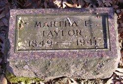 Martha F. Taylor