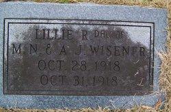 Lillie R Wisener