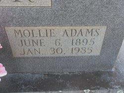 Mollie <I>Adams</I> Oliver