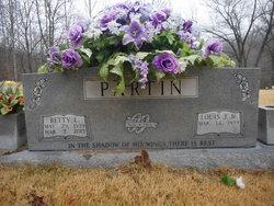 Betty Lou <I>Davis</I> Partin