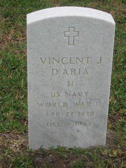 Vincent J D'Aria