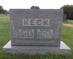 Ella Gertrude <I>Abbiehl</I> Keck