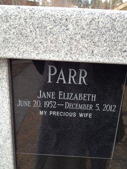 Jane Elizabeth Parr
