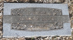 Agnes M. Brock