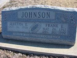 Seretha Elizabeth <I>Carlson</I> Johnson