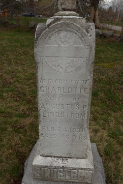 Charlotte Lindstrom (Unknown-1930) - Find A Grave Memorial