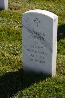 Duane E Cooper