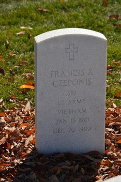 Francis X Czeponis
