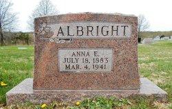 Anna E. <I>Farr</I> Albright