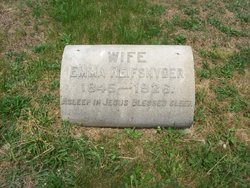 Emma <I>Jones</I> Reifsnyder