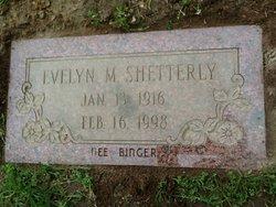 Evelyn M. <I>Binger</I> Shetterly