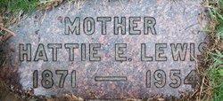 "Harriet Elizabeth ""Hattie"" <I>Appling</I> Lewis"