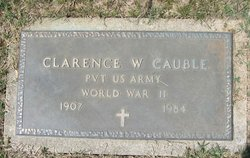 Clarence W Cauble