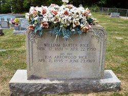 William Baxter Rice