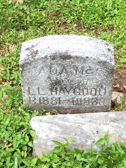 Ada Mc <I>Adams</I> Haygood