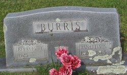 Janelda <I>Strickland</I> Burris