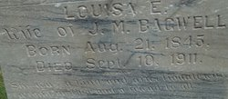 """Louise Eveline """"Lou"""" <I>Burton</I> Bagwell"""