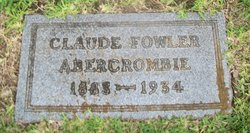 Claude Fowler Abercrombie
