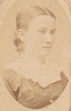 """Martha Jane """"Jennie"""" <I>Plowman</I> Bradbury"""