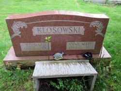 Bernard B Klosowski