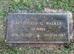 "Adolphus George ""AG"" Walker"