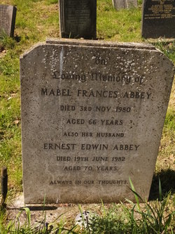 Ernest Edwin Abbey