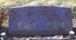 Alice M Dabinett
