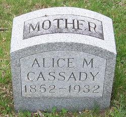 Alice May <I>Harnden</I> Cassady